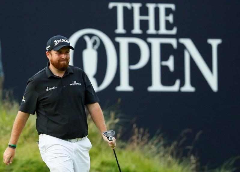 Golf: Lowry breaks course record to seize control at Open