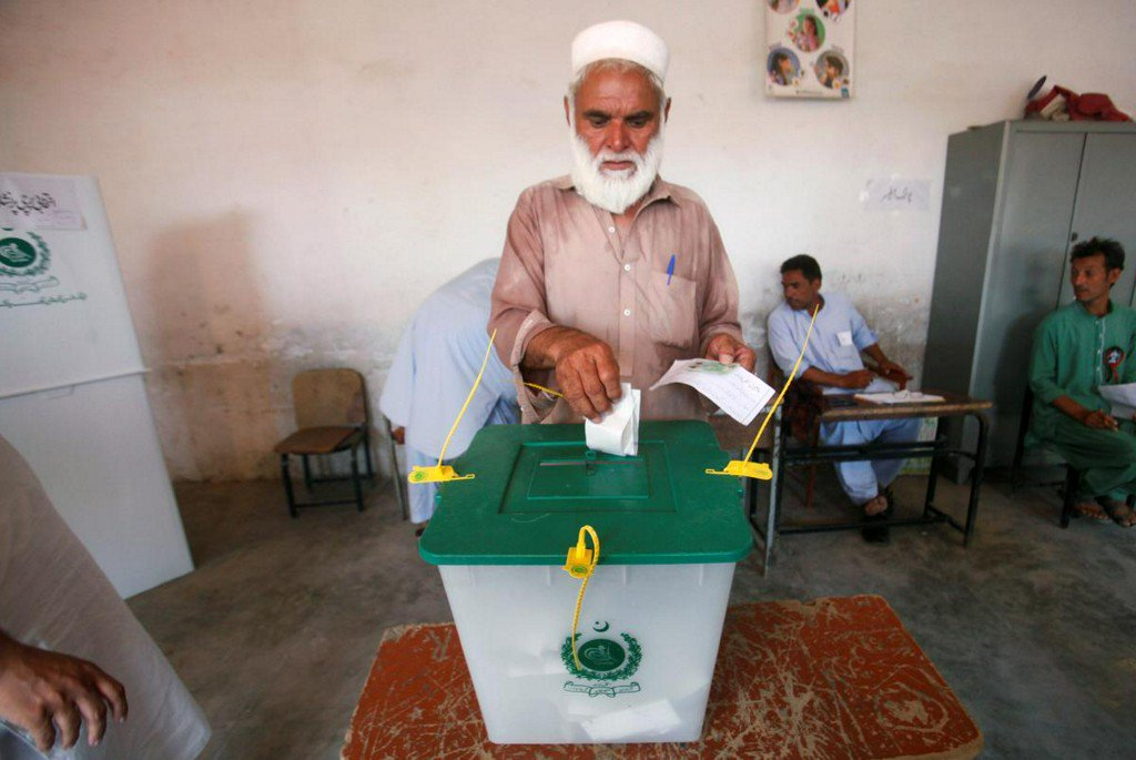 Pakistan's former tribal regions vote in first provincial election