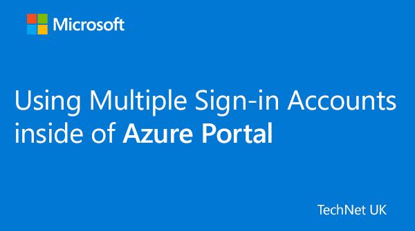 test Twitter Media - RT @TechNetUK: How to use Multiple Sign-in Accounts inside of Azure Portal: https://t.co/K3s8D4peUc  #ITPro #ITOps https://t.co/jre3xI3rlF