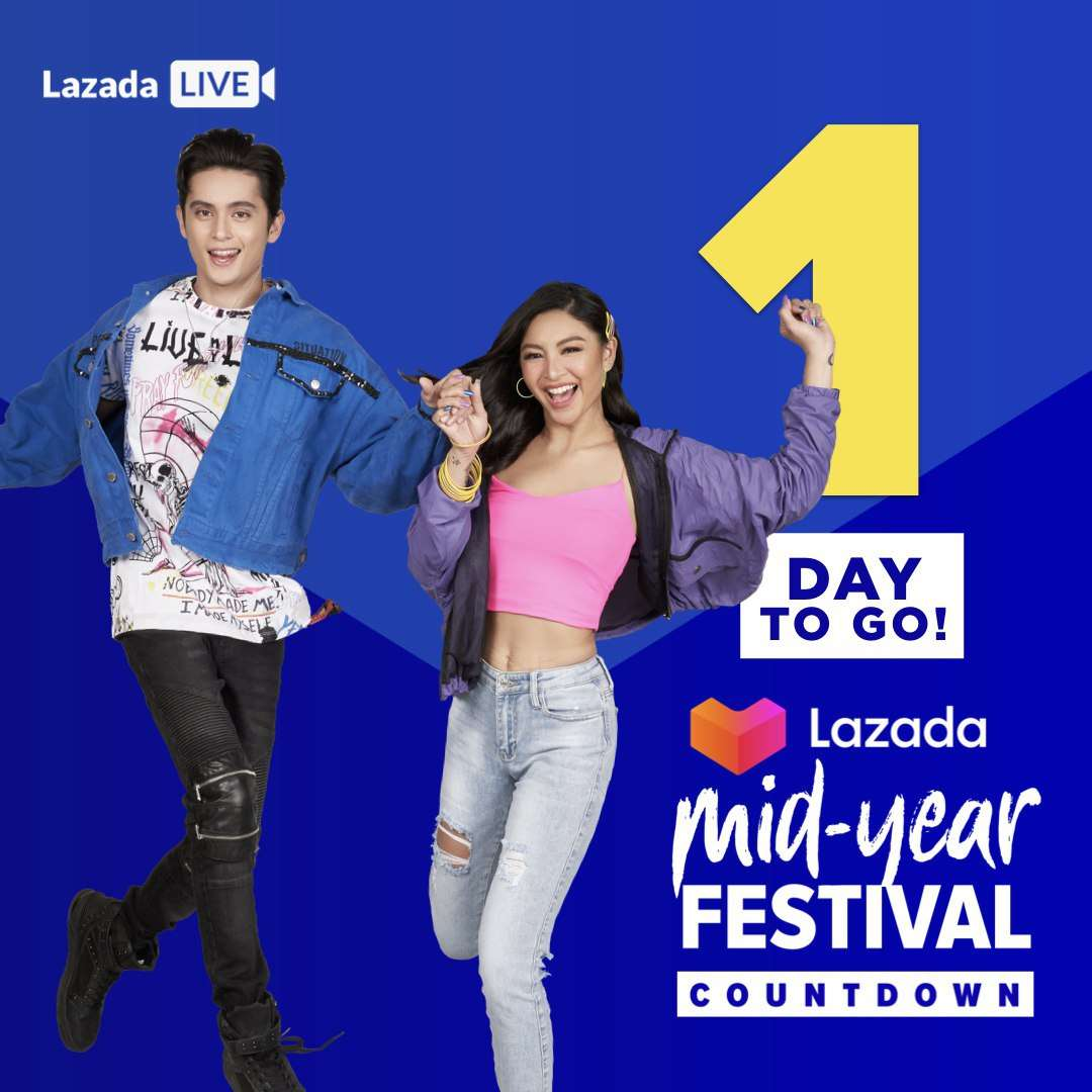 test Twitter Media - Tonight's the Night! Don't forget or else you might miss out on Millions of Deals your Heart Desires!   Click https://t.co/0mOgZHG3Zg to catch our Mid-Year Festival Countdown Live TONIGHT on the Lazada App at 9:30PM #JaDineForLazada #LazadaMYF #MidYearFestPH #MidYearFestival https://t.co/0x3sNqZ1oo