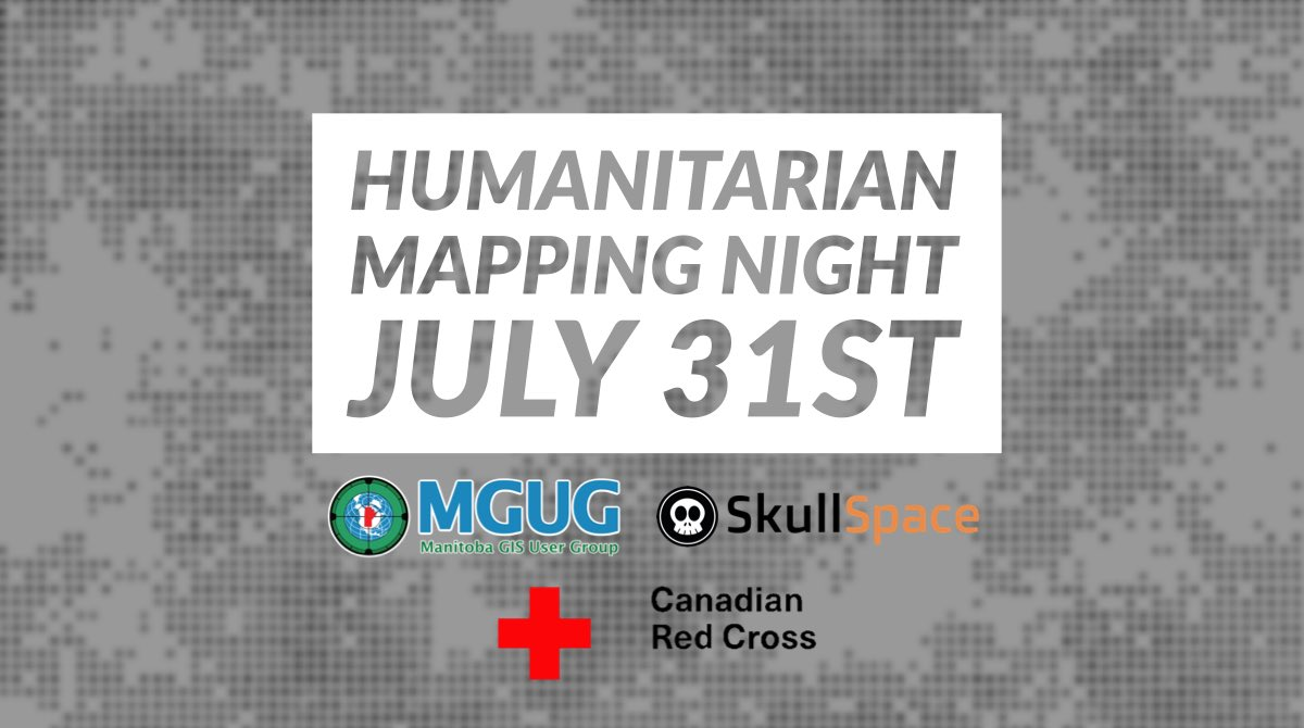 test Twitter Media - Join us on July 31st for a Humanitarian Mapping night at @SkullSpaceWpg ! For more information, visit https://t.co/VBrl9WTXJo https://t.co/RN19pW5C5p