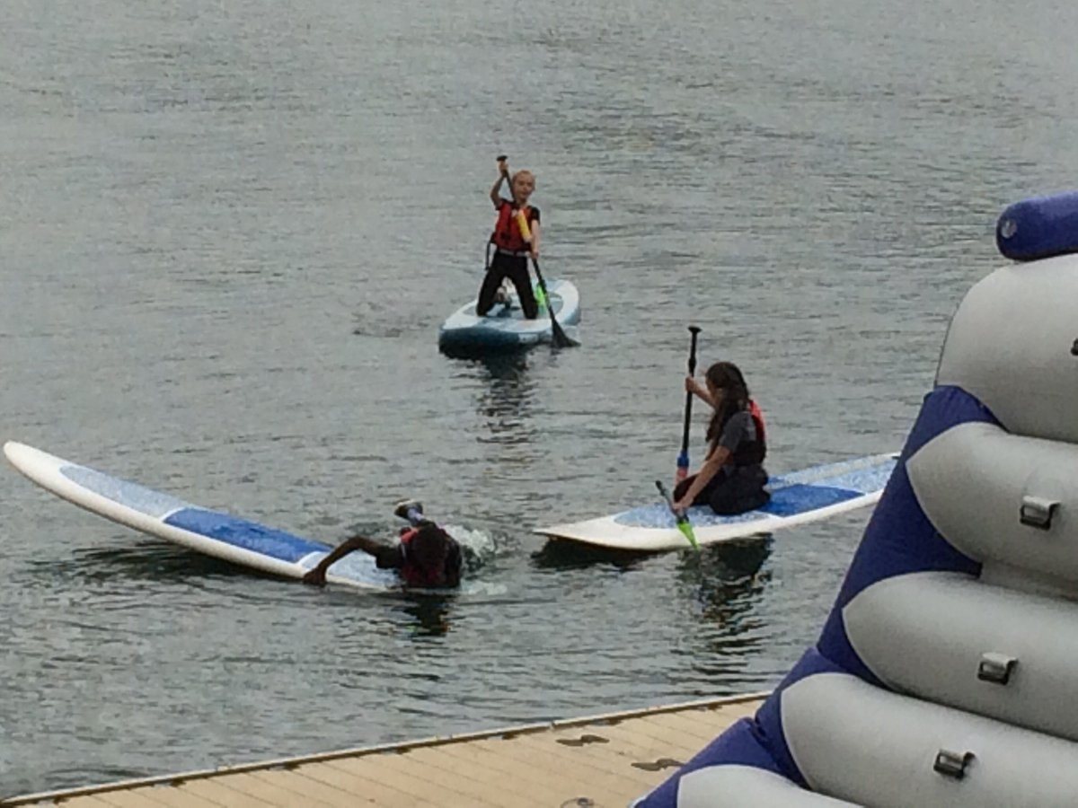 test Twitter Media - Year 6 are having a fantastic time @aztecadventure1. Here they are paddleboarding this morning. https://t.co/BJG32fo824
