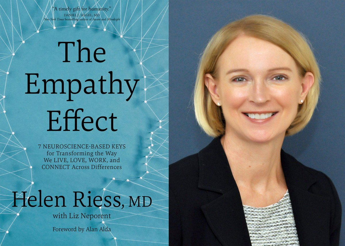 test Twitter Media - Using neuroscience-based research (and an easy to remember acronym), @HelenRiessMD '78 teaches #empathy as a way to improve our lives, our schools, our workplaces, and maybe even the world.   Check out her seven keys to E.M.P.A.T.H.Y.® https://t.co/CSJYmb9tsz https://t.co/Rx6RR5ngJC