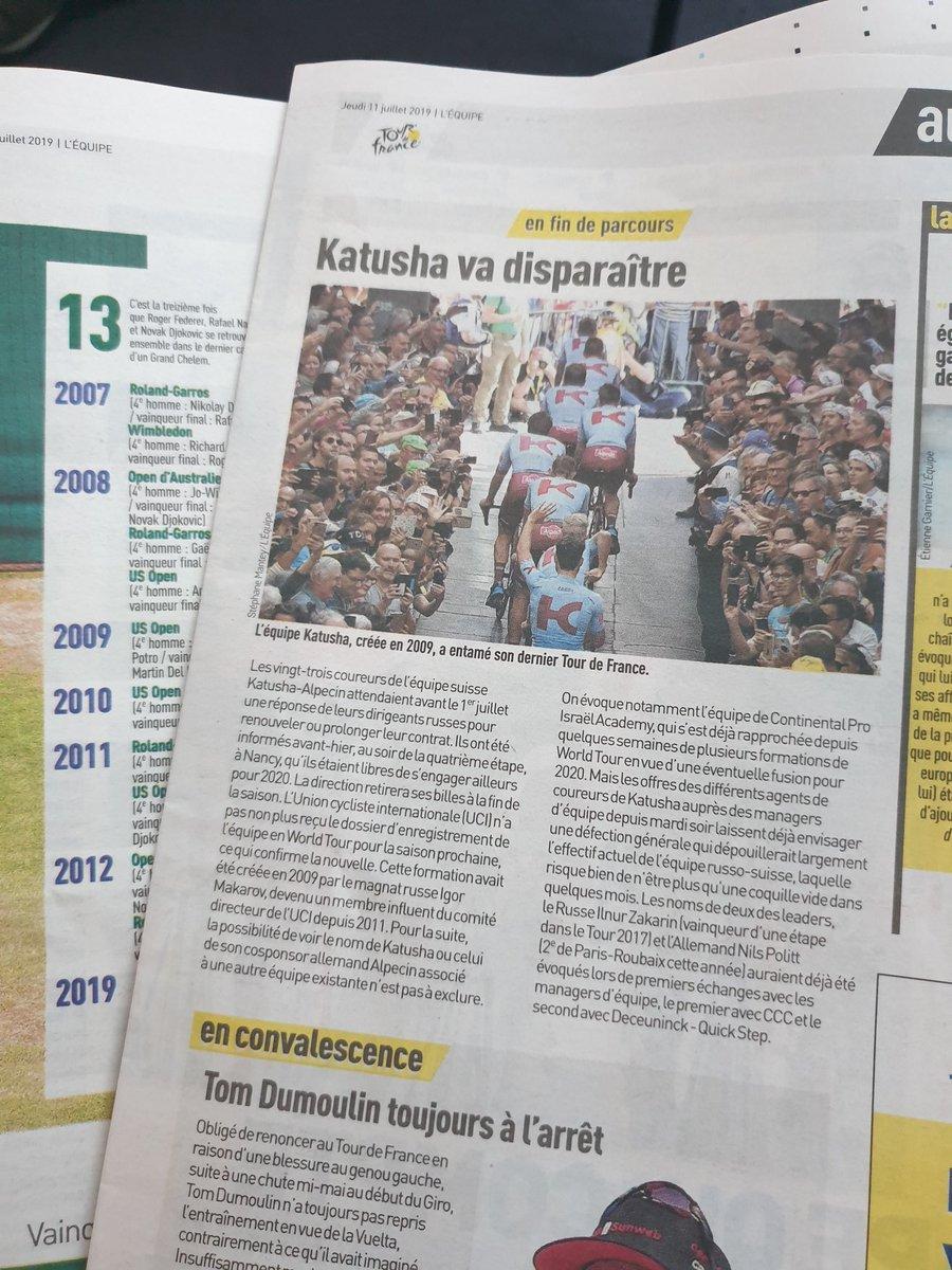 test ツイッターメディア - 今朝のパリでのトランジットも有意義な時間。チャットモンチーを聴きながらのんびり過ごす。#wtulens #chatmonchy #airfrance #léquipe #katusha 🤦🏻♂️ https://t.co/I1XeBNWJKv