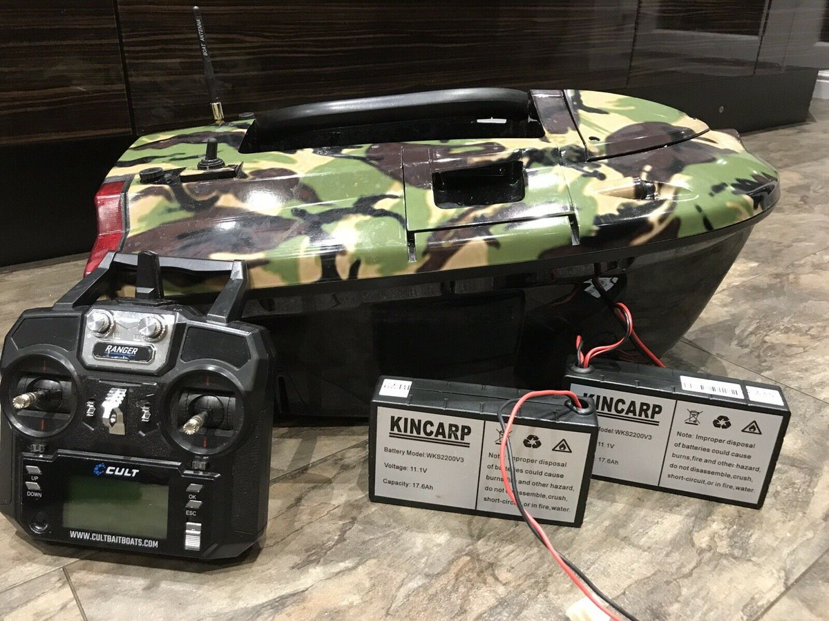 Ad - Cult Ranger Pro GPS Autopilot Baitboat On eBay here --&<b>Gt;</b>&<b>Gt;</b> https://t.co/prgAU