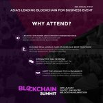 Why attend the Blockchain Summit Singapore 2019? https://t.co/g57iTxcd9x #BlockchainSummit2019 #eventhighlights https://t.co/LtQkrrudMI
