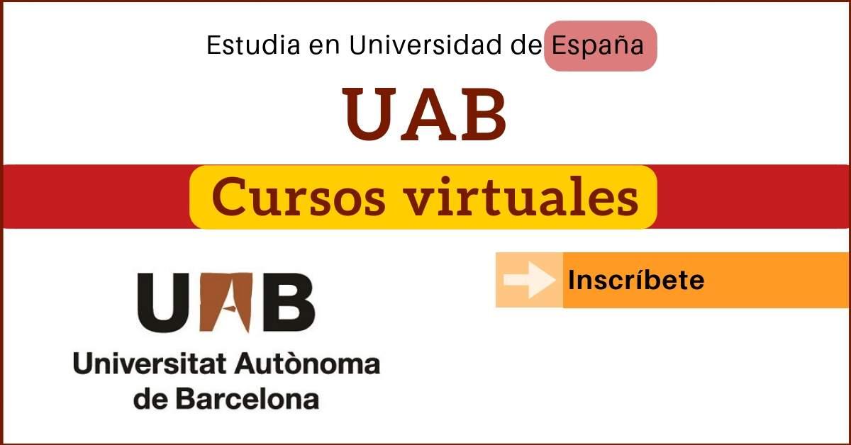 La #UAB y Coursera se unen para ofrecer estos #cursos virtuales  ¿Cuál te interesa? 👇 https://t.co/68o39jJdGy https://t.co/tHUsr84mAs