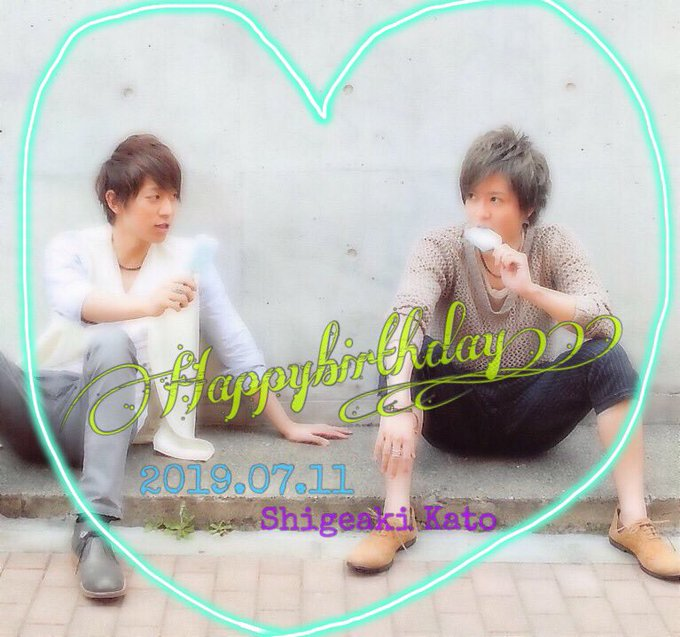 Shigeaki Kato         Happy Birthday to you