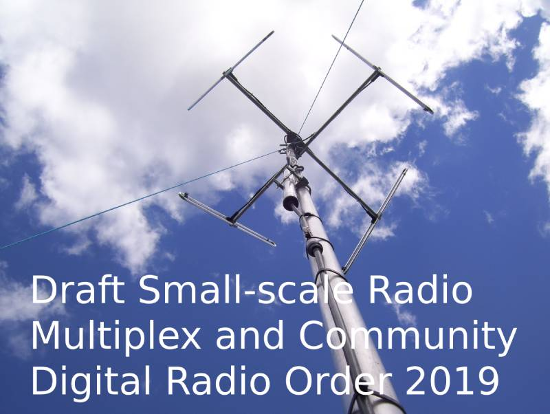 test Twitter Media - uesday 16th July, 8.55am Second Delegated Legislation Committee Subject: Draft Small-scale Radio Multiplex and Community Digital Radio Order 2019 Location: Room 9, Palace of Westminster https://t.co/doQsezNkmh #communityradio #digitalradio #SSDAB https://t.co/ppnrJ3FkVR