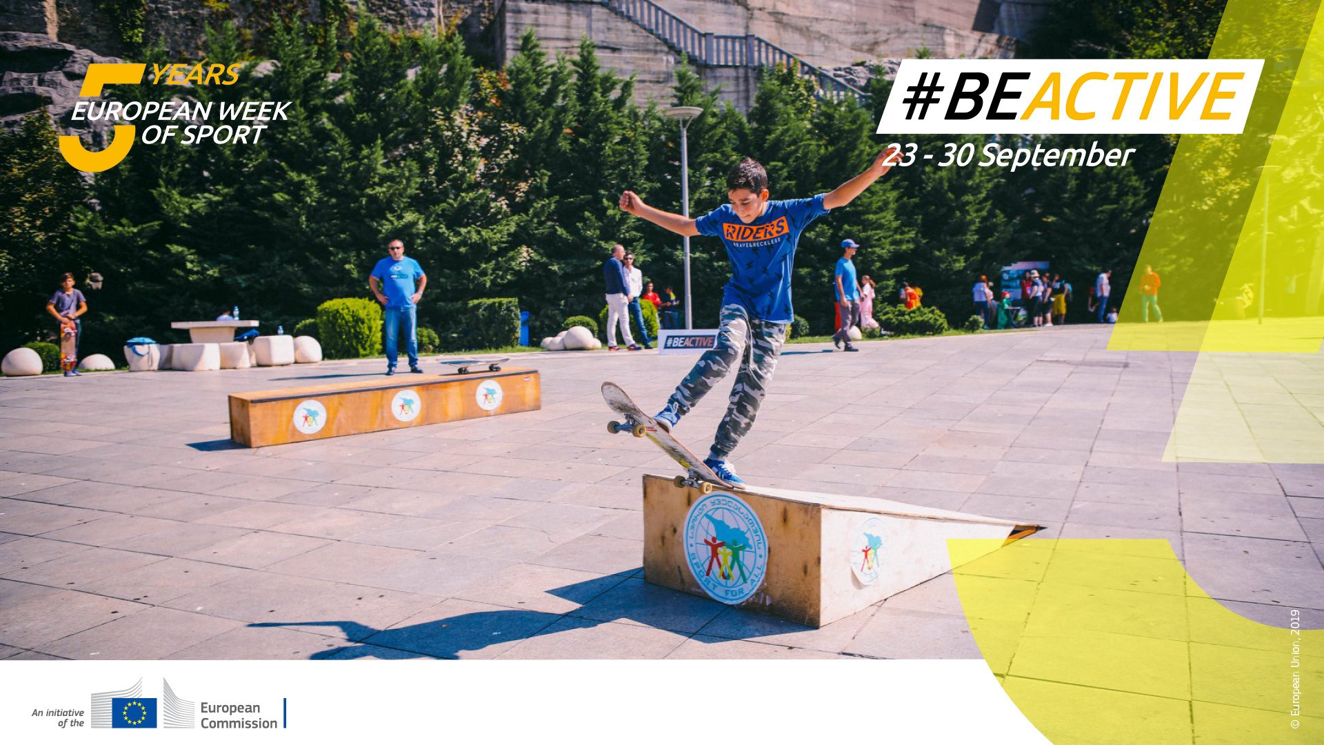 40% of sports and physical activities 🚴 are most often practiced in parks and outdoors 🌳☀️.   We need more sport-friendly urban spaces! 🤾♀️    #BeActive #EuropeanWeekOfSport https://t.co/AnVQCMHyNh