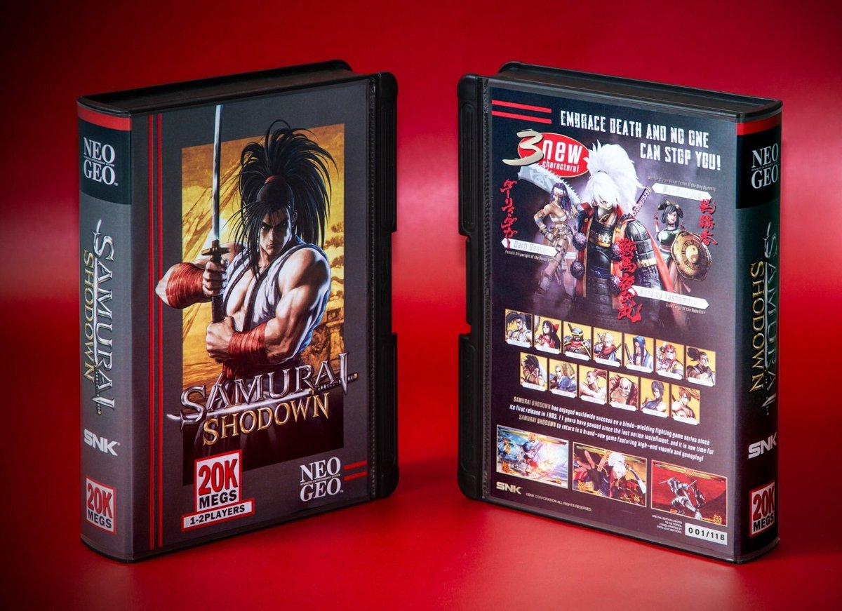 Concours ⚠️ Gagnez 1 exemplaire du jeu #SamuraiShodown (PS4) avec une Shockbox NEO•GEO PAL inédite ! 🔥🔥   RT + Follow @Pixnlove pour participer ! Le gagnant sera tiré au sort lundi 15/07. 🗳️ Bonne chance !