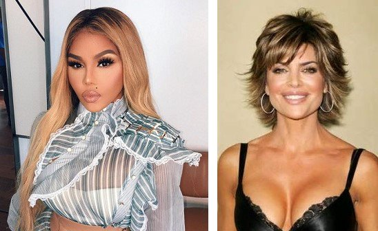 HAPPY BIRTHDAY ! Lil\ Kim  and  Lisa Rinna