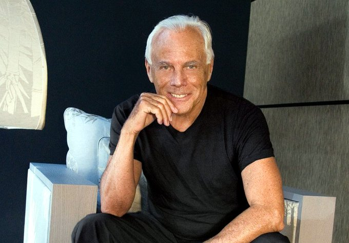 Happy Birthday To Giorgio Armani!