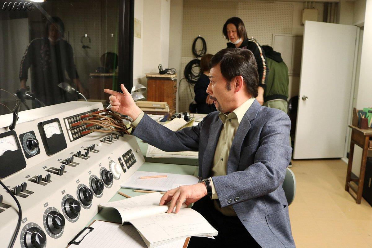 test ツイッターメディア - 本日、ディレクター藤井役で登場したのは、声優も俳優もこなす高木渉さん。副調整室のセットにいたところをパチリ。  #朝ドラ #なつぞら #高木渉 https://t.co/JaVUmTNOrG