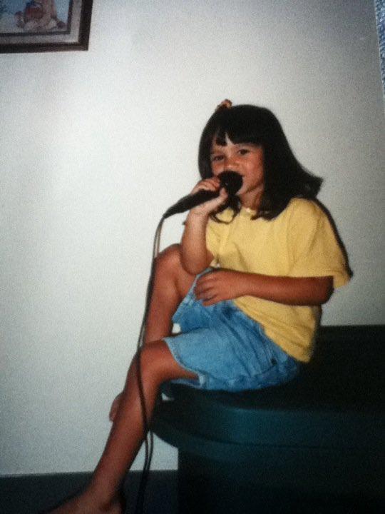 RT @_lindsaygibson: @hitRECordJoe Found my love for music at a very young age #MakeYourMark https://t.co/xaDWgOJ7yM