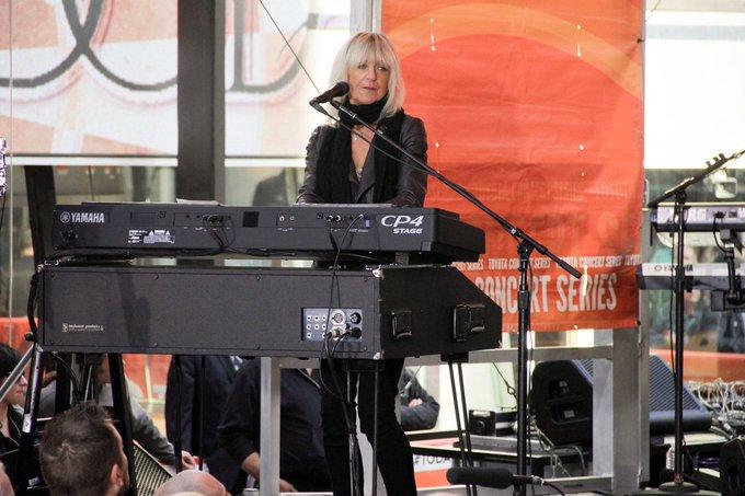 Happy birthday to the legendary Christine McVie (pic, PRphotos) of Fleetwood Mac!