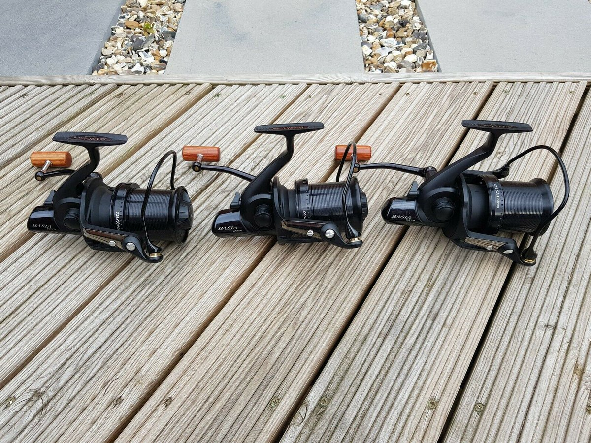 Ad - Daiwa Basia Custom x3 On eBay here -->> https://t.co/QnpRknwlCB  #carpfishing https://t.c