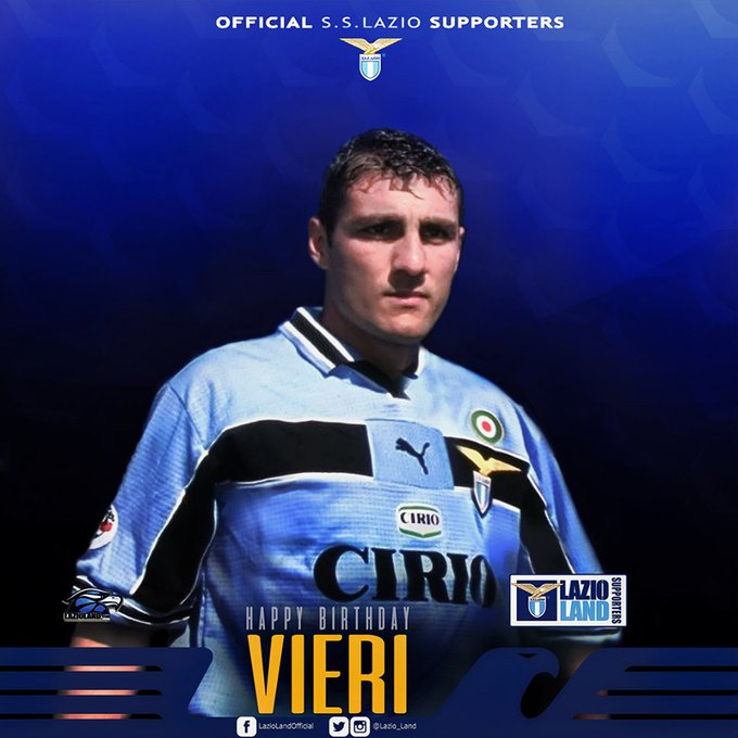 Happy Birthday to the player formerly known as \Bomber\ and the DJ presently known as \Bobo\ - Christian Vieri!