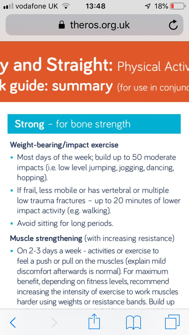 test Twitter Media - Osteoporosis CPD day with specialist PSI #exercise inst and some physios. Using @RoyalOsteoPro exercise guidelines to determine start points/focus - straight steady strong (and impact or not to impact, this is a question) https://t.co/Pt87RNQYDs