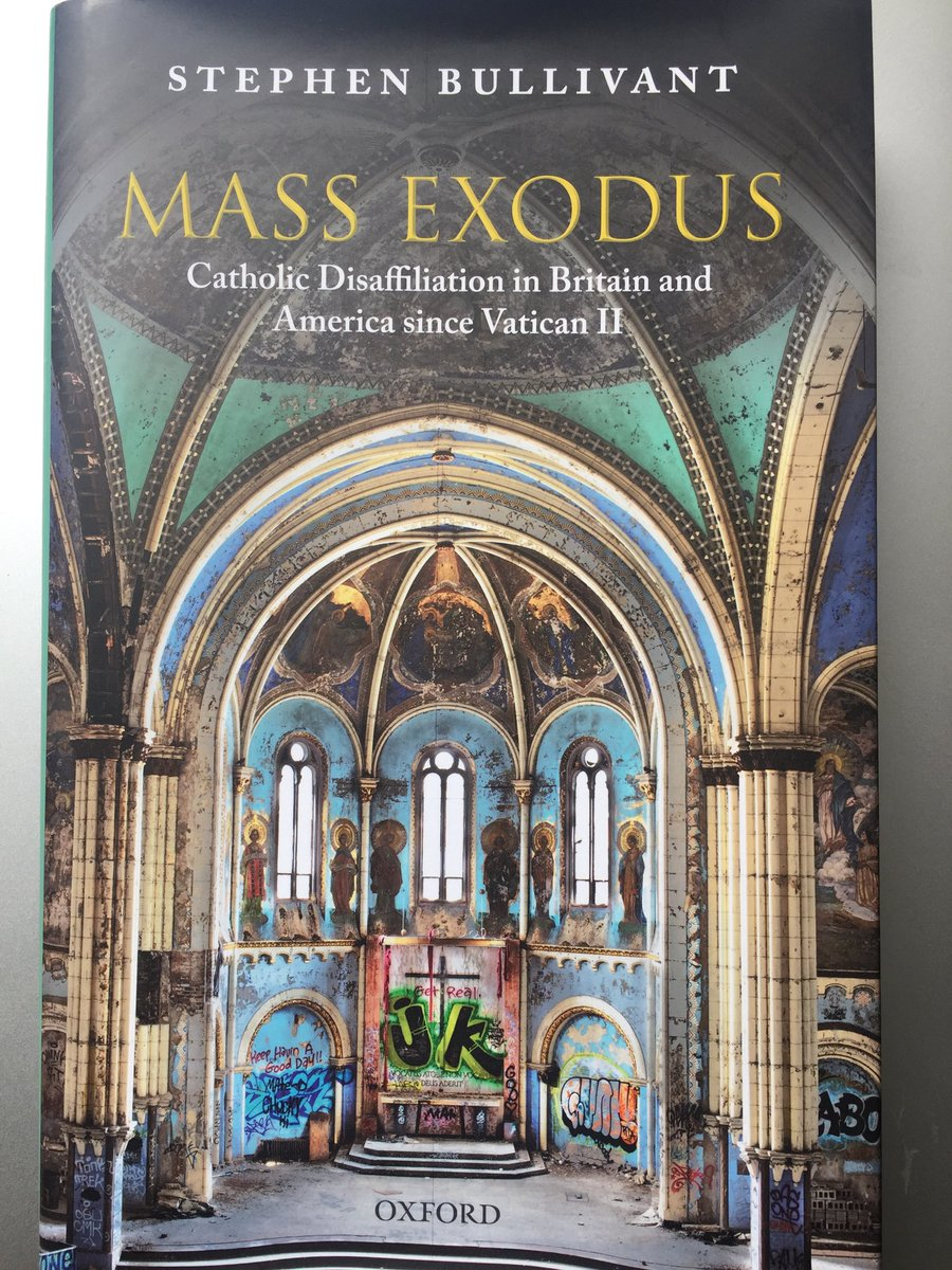 test Twitter Media - I'm studying at the moment Stephen Bullivant's rather sobering 'Mass Exodus'. How to (re)connect with the 87% of Catholics in our Diocese who don't practice is presently the focus of our Diocesan Pastoral Council. Let us pray for the 'lapsed' and do our best to befriend them. https://t.co/0MDyfw6EWe