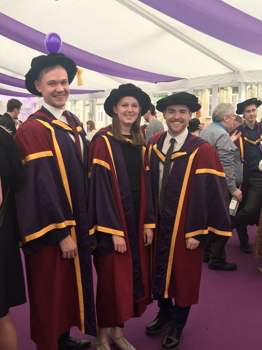 Look at these Drs 😍🥳🎓Matt, Catriona and Conor https://t.co/hrtitoTRg0