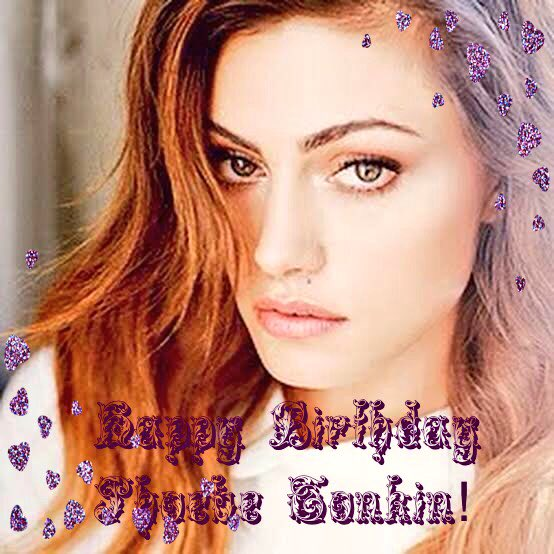 Happy Birthday Phoebe Tonkin!