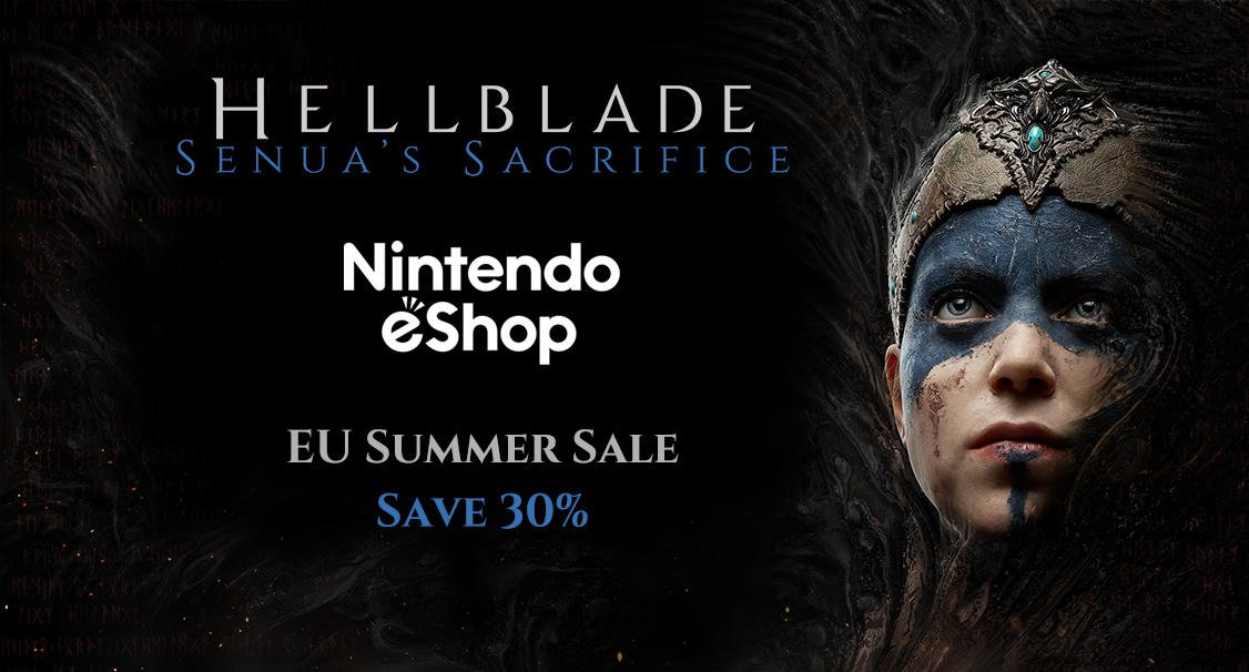 test Twitter Media - #Hellblade is now 30% off in the EU #NintendoSwitch Summer Sale! ☀️  Get Hellblade on the eShop: https://t.co/jtn1Do4Dd8  #SwitchSale #SummerSale https://t.co/AYWyMf1qzr