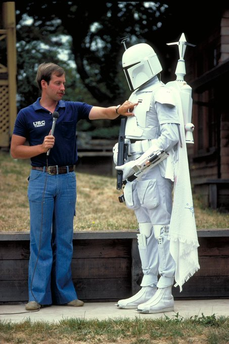 Happy birthday to Ben Burtt! He was the first person to give us a detailed look at Boba Fett\s armor.
