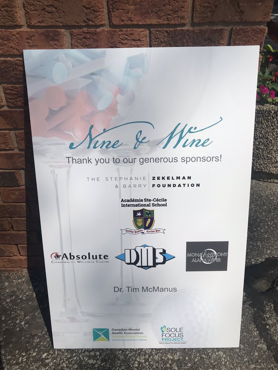 test Twitter Media - Thanks to everyone- for supporting #mentalhealthawareness in #YQG Our Nine and Wine event is off to a great start! https://t.co/2twyEIjErl