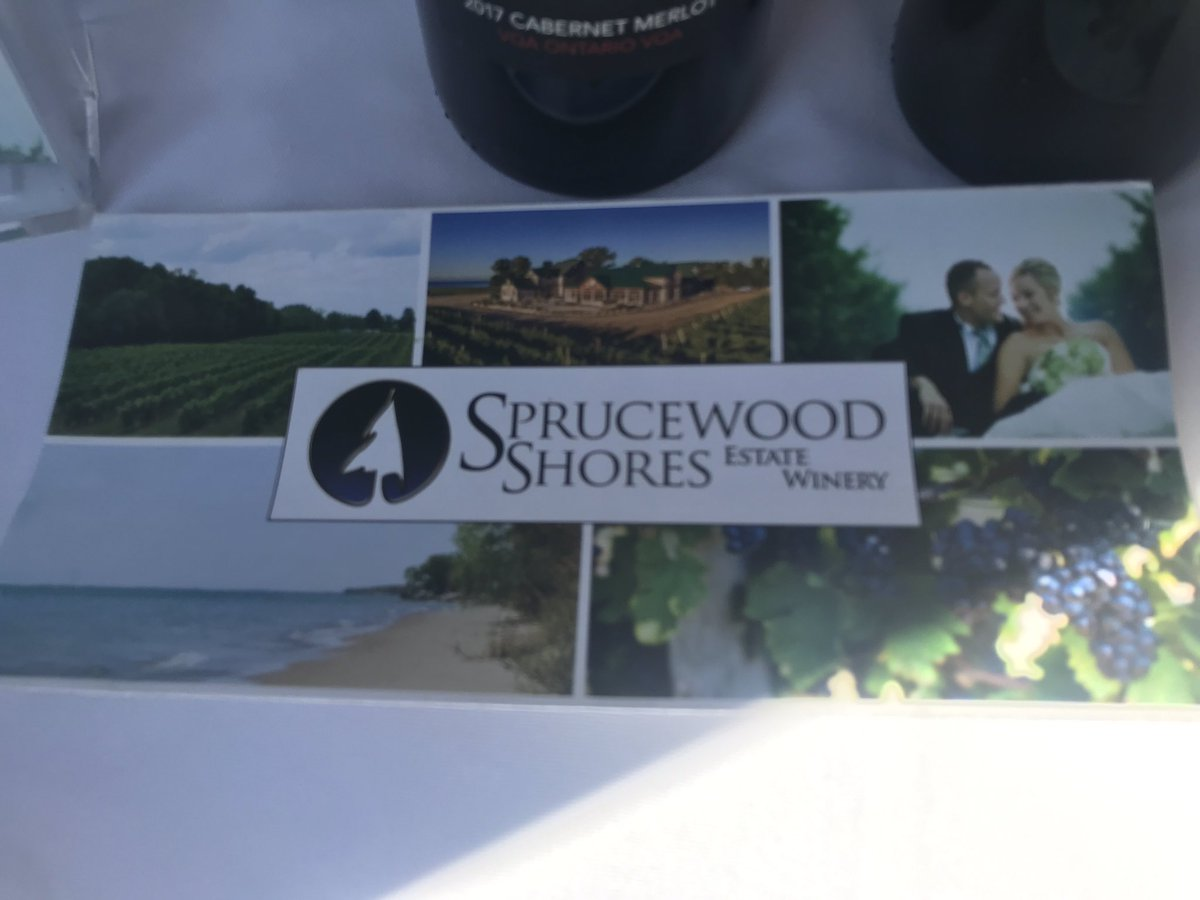 test Twitter Media - Thanks to @SprucewoodWine for your generosity!  The #wine is superb - sampling is 👌 We so value sponsors who support #mentalhealth in #YQG https://t.co/OxHOpovM9h