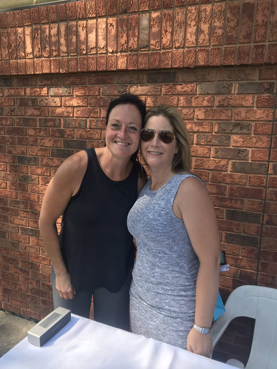 test Twitter Media - A happy start to our event!  Thanks Kerri and @TfryerTammy - our Nine ⛳️ and wine 🍷 event in support of #mentalhealth #YQG @RoselandGolf https://t.co/fQc7cPmw7i