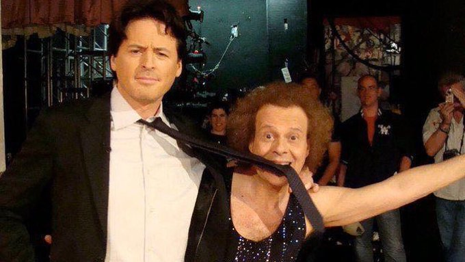 Happy Birthday Richard Simmons, from a grateful nation.