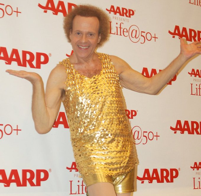 Happy 71st Birthday to fitness instructor, actor, and video producer, Richard Simmons!