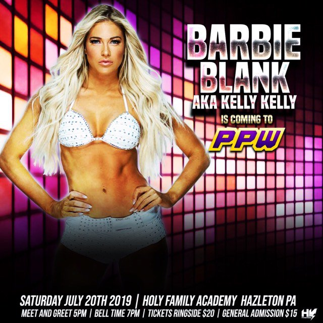 RT @PPWWrestling1: https://t.co/Nx22nOF0yf arrives next Saturday Night! @TheBarbieBlank speaks to the PPW Nation! https://t.co/G4fwl6KWID