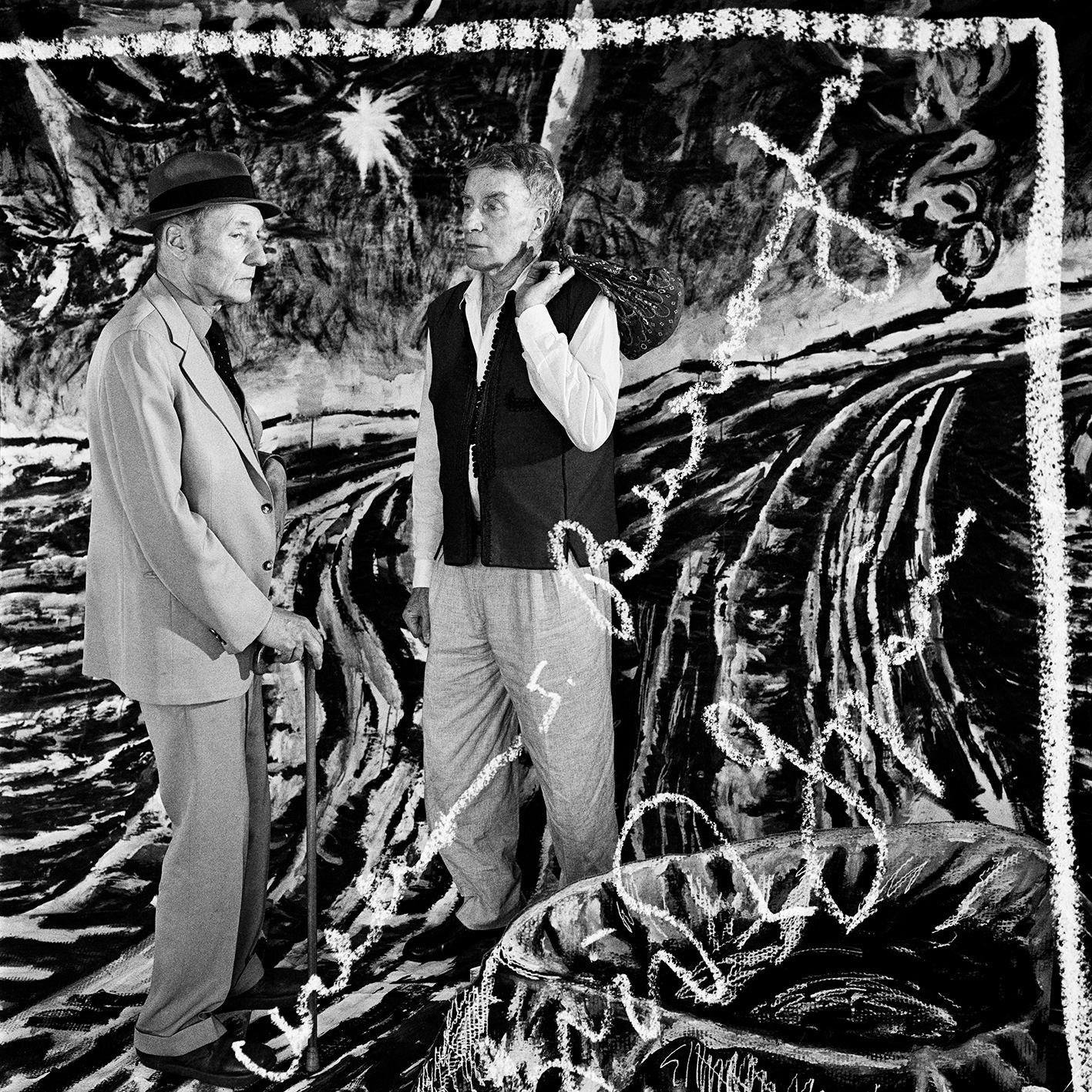 William S. Burroughs and Brion Gysin circa 1978 #writer #author #artist https://t.co/g2DxvXhLCJ