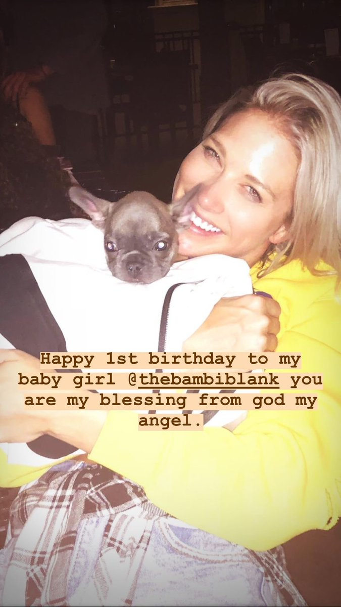 RT @BarbieBlankSite: Happy 1st birthday to Bambi! @TheBarbieBlank https://t.co/uOdD2gqoU4