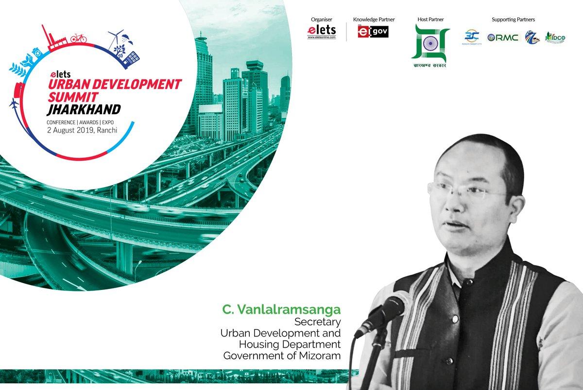 test Twitter Media - Elets Technomedia is delighted to welcome to welcome Dr C Vanlalramsanga, Secretary, Urban Development & Poverty Alleviation Department, @MIZ0RAM Govt in #UrbanDevelopmentSummit Jharkhand, August 2. @CMOJharkhand @smartranchi @rporanchi @eletsonline @AroraGopi @NikhilLakhera1 https://t.co/JlrPTJYqmv