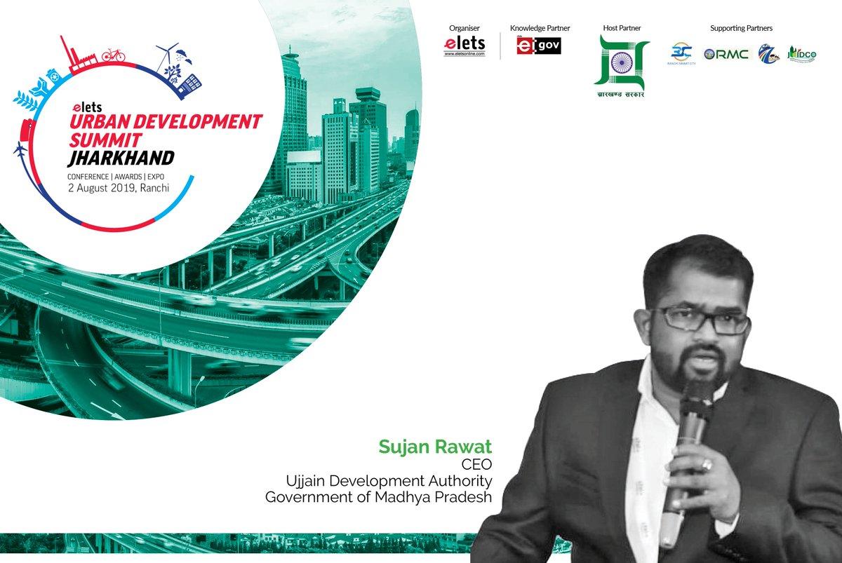 test Twitter Media - Elets Technomedia is glad to announce Sujan Rawat, CEO, #UjjainDevelopmentAuthority as Speaker, #UrbanDevelopmentSummit Jharkhand, August 2. @rawat_sujan @CMMadhyaPradesh @cmojhr @juidco @rporanchi  https://t.co/ZfKLychHXH @eletsonline @AroraGopi @NikhilLakhera1 https://t.co/HY7kPhjZMS