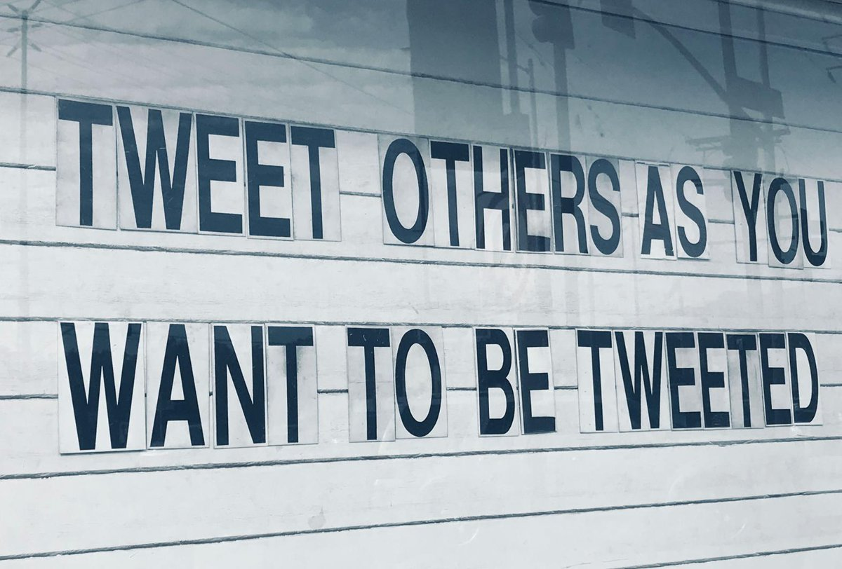 Always my philosophy here @Twitter :) https://t.co/cJOhnm75dm