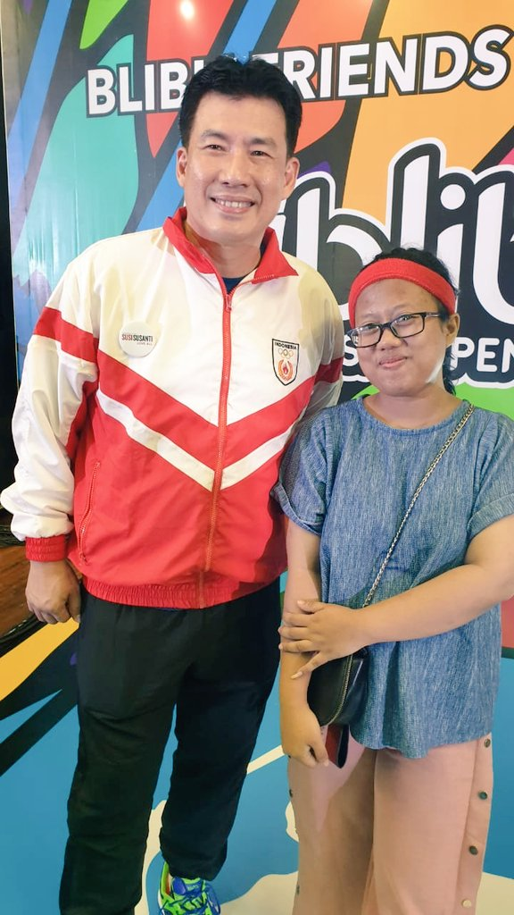 Pre-Event BliBli Indonesia Open 2019.. #BlibliFriendsMeetUp #BlibliIndonesiaOpen2019 https://t.co/Emb1dTeVEI