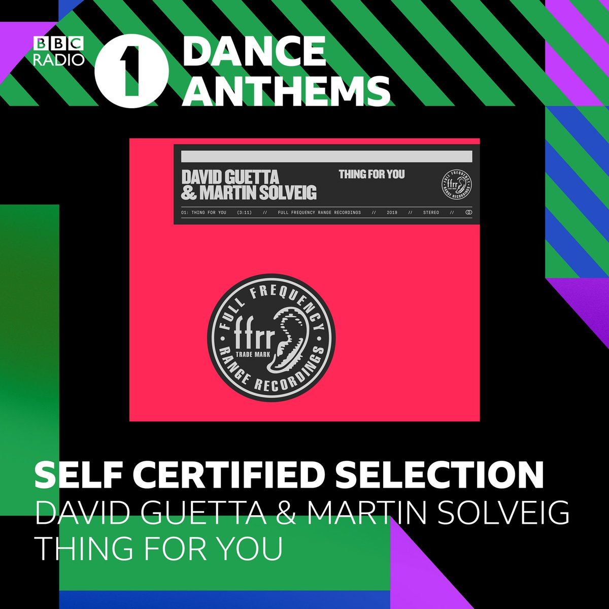 Thanks to @MistaJam for playing 'Thing For You' with @martinsolveig on @bbcradio1 today in Dance Anthems! https://t.co/dDWCz56rmA