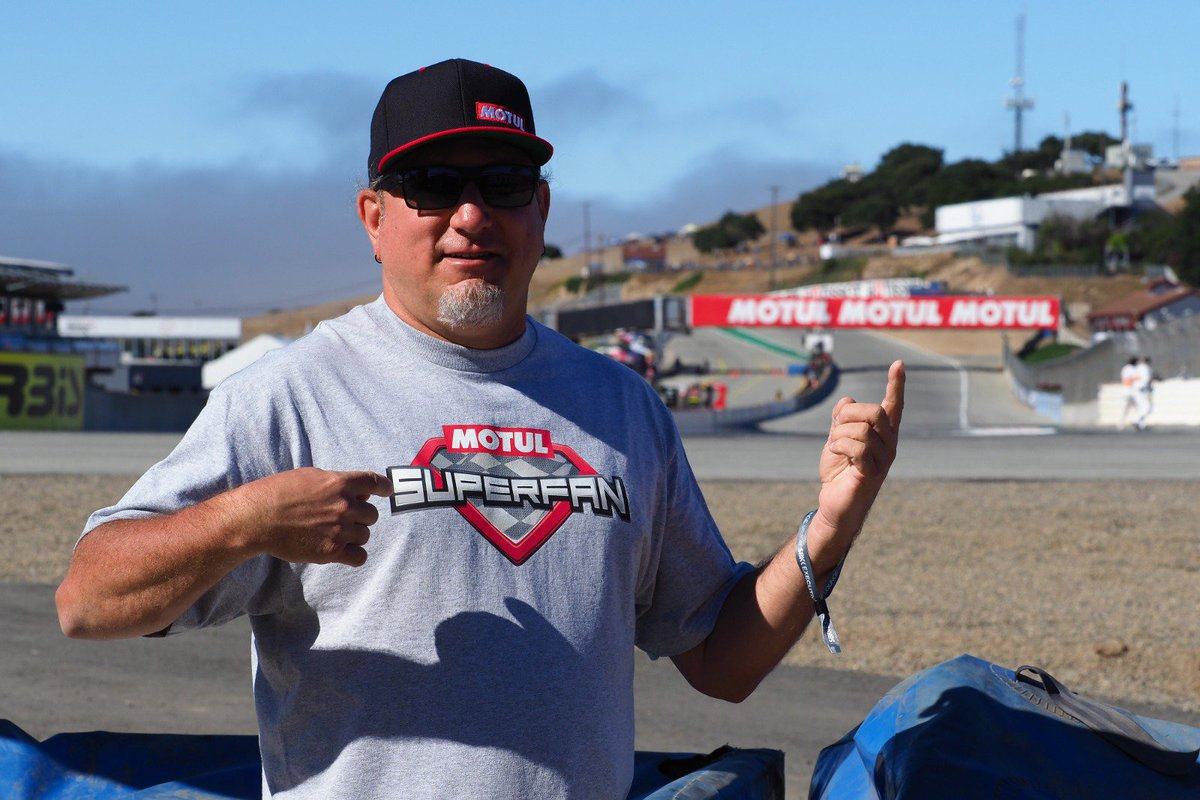 test Twitter Media - Memories for life...😍 Look how #MotulSuperFan was having the time of his life at Laguna Seca! #USAWorldSBK 🇺🇸  There are experiences impossible to forget thanks to @motul!   Remember, this could be you 👇🏻 https://t.co/c5ZylJuGjD https://t.co/cEwRMeO2Iy
