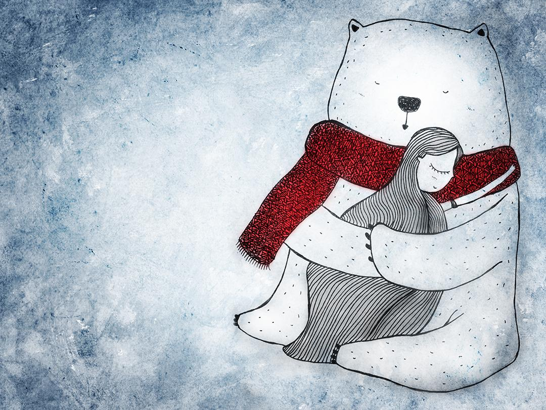 RT @HITRECORD: For anyone who could use a big bear hug right now <3 https://t.co/4txpHrcAAG https://t.co/B61lPCgVnb
