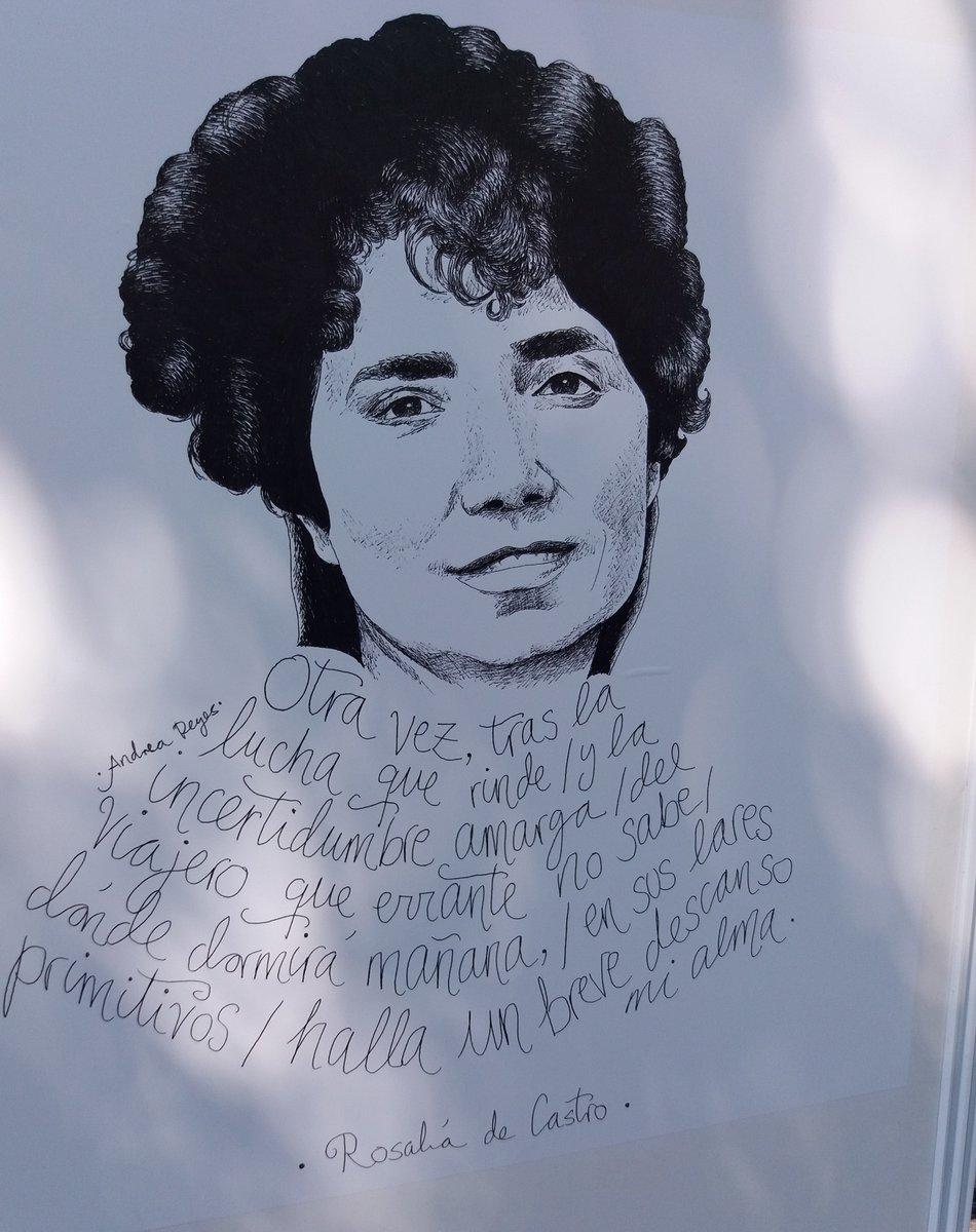 test Twitter Media - Azorín la definió como «uno de los más delicados, de los más intensos, de los más originales poetas que ha producido España». #TalDiaComoHoy de 1885 fallecía en Padrón Rosalía de Castro. Volvamos a su obra https://t.co/KZ5vTC4Opq https://t.co/Y3Jm4xBArs