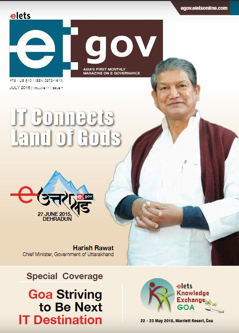test Twitter Media - #Throwback The July 2015 issue of eGov magazine is dedicated to the God's own state, #Uttarakhand. Click Here: https://t.co/25w8K2c3BY @harishrawatcmuk @PIBDehradun https://t.co/y2V6dHV31c