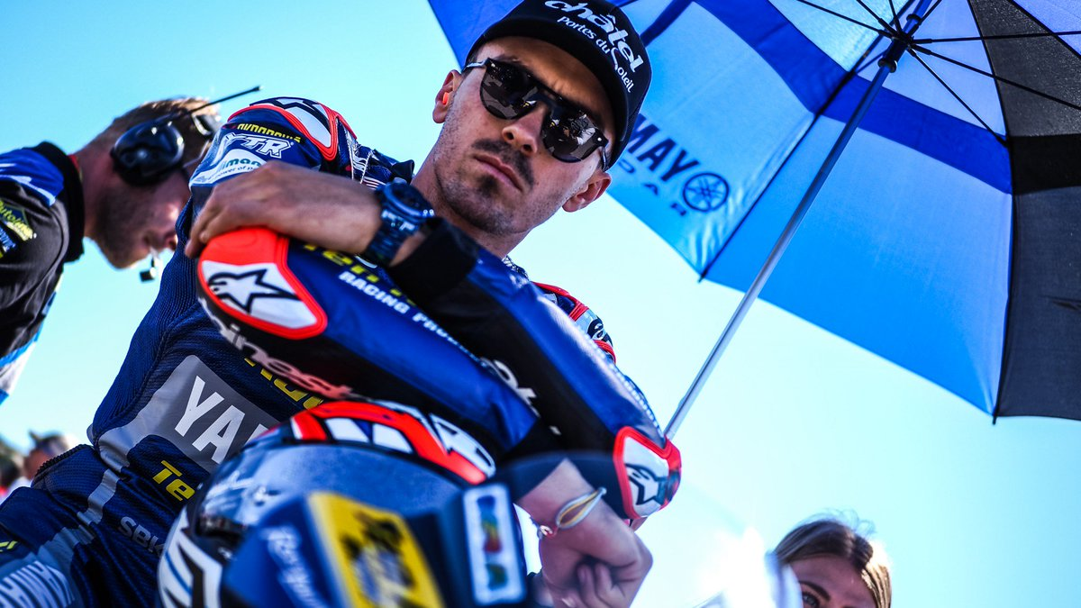 "test Twitter Media - 💪 @lorisbaz shows his pace after ""positive"" Laguna Seca!  Hard work pays off for Baz, as the Frenchman's consistency allows him to head into Summer holidays in a happy state of mind!  #USAWorldSBK 🇺🇸  📃 