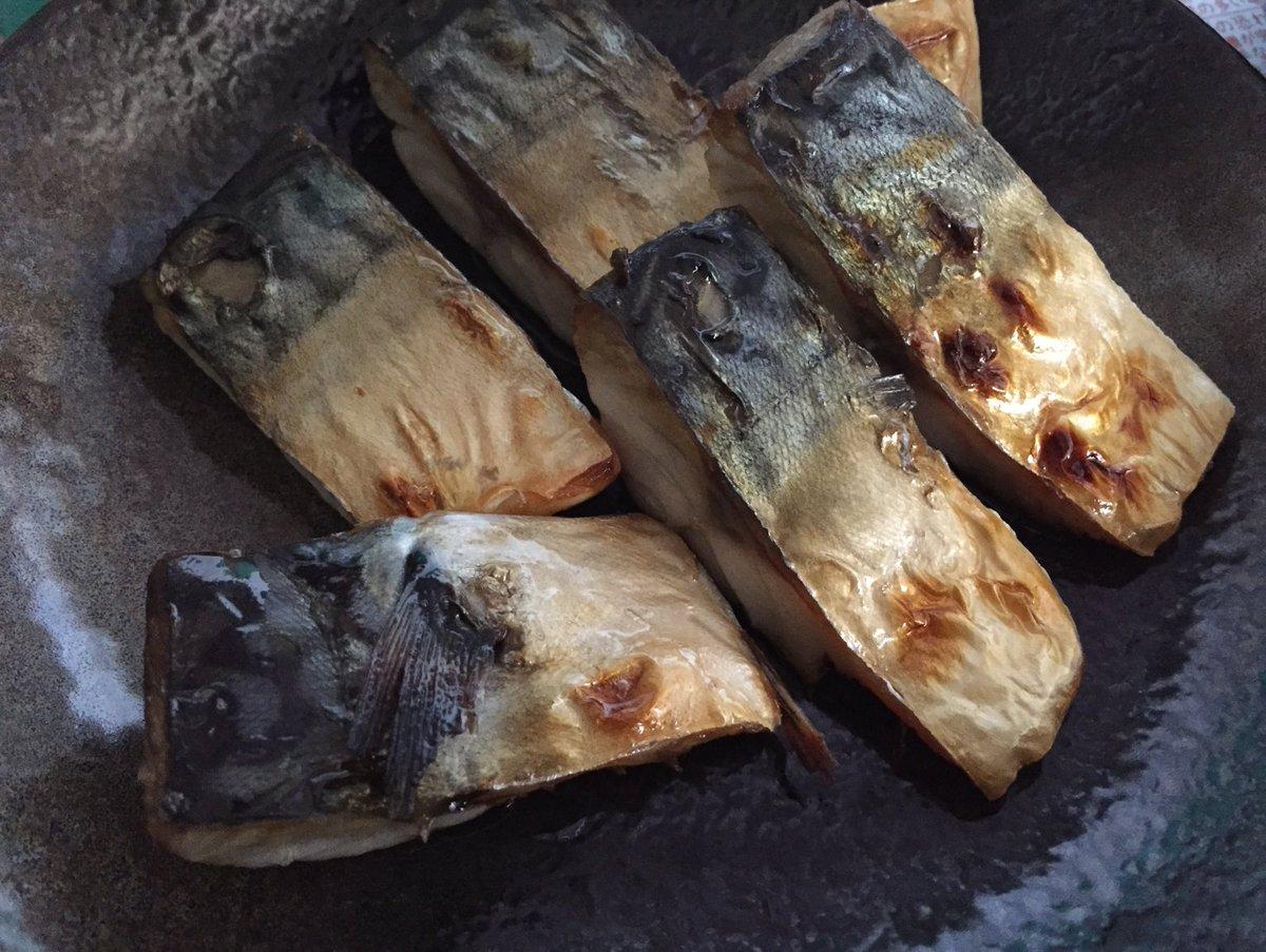 test ツイッターメディア - 今日のおつまみ記録 焼き鯖 子持ちししゃもフライ もやしとほうれん草の帽子のっけ (栗原市はるみさんのレシピ) 鰹節無かったー  作ったけど肉喰いたいって ステーキ肉買ってきたから 鯖は明日の朝ごはんだな。 https://t.co/pIacJbIQch