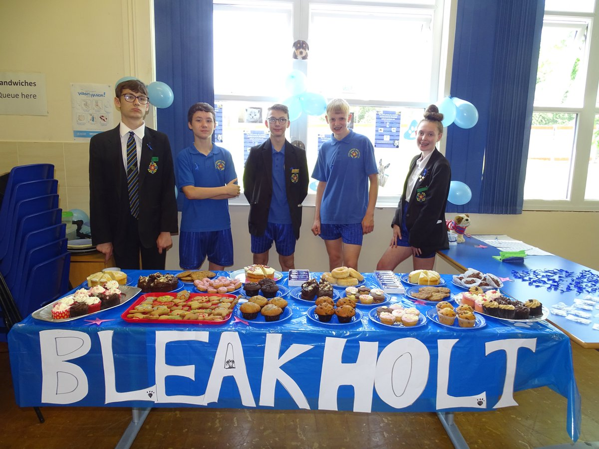test Twitter Media - Well done to the COPE group who held a cake sale today to raise money for Bleakholt.  They also raised money by selling ribbons, raffle tickets, key rings and guess the name of the dog competition. #bleakholtuk  #castlebrookcharitybleakholt https://t.co/iPqkEYPCSy