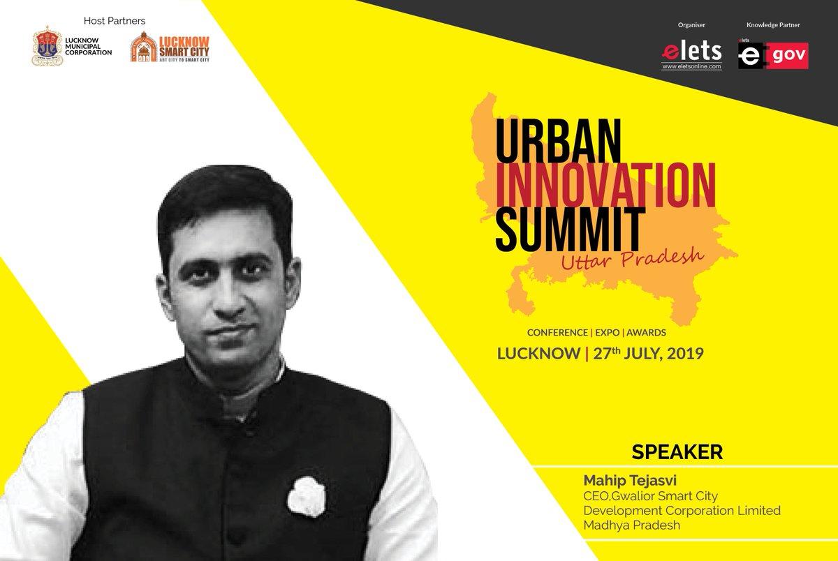 test Twitter Media - Elets Technomedia welcomes Mahip Tejasvi,  CEO, @smartgwalior, as a Speaker in Elets #UrbanDevelopmentSummit Uttar Pradesh, July 27, in Lucknow in association with #LucknowMunicipalCorporation & @LkoSmartCity @tejasvi_mahip @CMMadhyaPradesh @UPGovt @eletsonline @ArpitKGupta https://t.co/9BgyQl5mqB