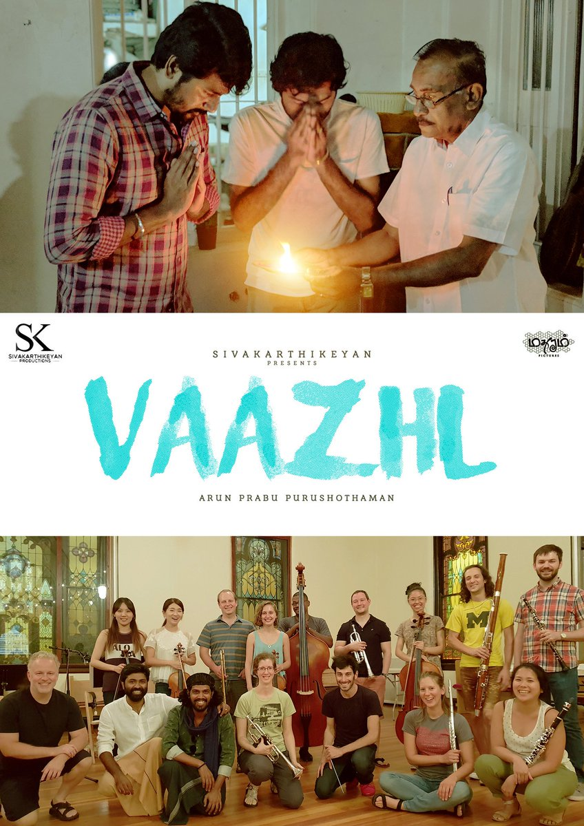 That's a wrap up for our #Vaazhl after 75 days of shoot in 100+ locations. Post production going on in full swing 🥳  #VaazhlWrapUp  @Siva_Kartikeyan   @KalaiArasu_   @thambiprabu89   @shelley_calist   @pradeepvijay   @raymondcrasta   @dhilipaction   @madhuramoffl   @DoneChannel1